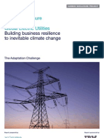 Carbon Disclosure Project Climate Change & Global Electric Utilities