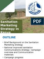 Social Marketing for Improving Sanitation in Kenya