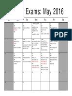 ib ap exams 2016