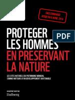 """Le rapport de WWF """"Protéger les hommes en protégeant la nature"""""""