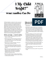 Should My Child Lose Weight