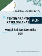 Tentir Prak PA - Sel Genetika - FSI 2011