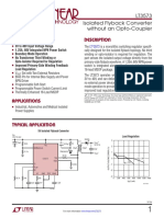 Isolated Flyback Converter without an Opto-Coupler