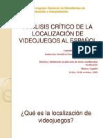 Ponencia Congreso Estudiantes Traducción Pablo Siredey