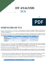 TCS SWOT