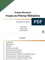 Projeto de Prensa Hidráulica