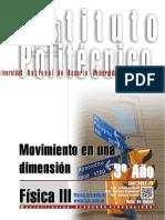 7301-16 FISICA Movimiento en Una Dimensión