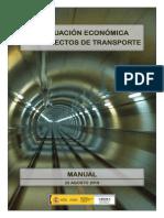 Manual Evaluacion Economica de Transporte