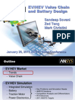 EVHEV Value Chain and Battery Design - Comprehensive Solution Presentation