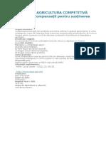 Proiectul Agricultura Competitivă (Mac-p)