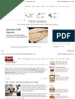 Pane carasau o carta musica - Descrizione e utilizzo   Alimentipedia