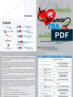 Programa Jornada 'Las personas con TEA en el ámbito sanitario'