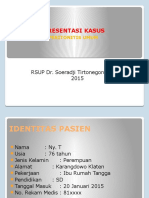 Peritonitis Umum-perforasi Gaster