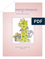 LOS NÚMEROS ORDINALES def