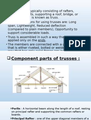 Types of trusses | Truss | Civil Engineering