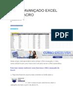 Tutorial Filtro Avançado Excel Com Macro
