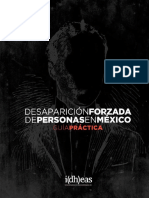 Desaparicion Forzada de Personas i(Dh)Eas