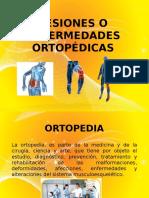 Lesiones o Enfermedades Ortopédicasii