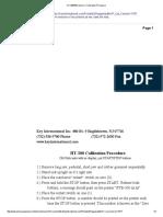 HT-300_500 Vesion 1 Calibration Procedure