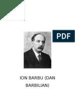 Matematica - Dan Barbilian