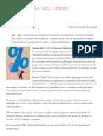 La Tasa Máxima Del Interés Convencional _ Legisprudencia - Junio 2007