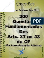 Apostila Questoes Dos Arts. 37 Ao 43 Da Cf (1)