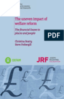The Uneven Impact of Welfare Reform: The financial losses to places and people