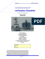 PSC RINA PSC Self-Verification Checklist - Copy