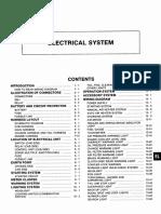 electrical system nissan cwb45