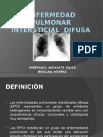 ENFERMEDAD  PULMONAR  INTERSTICIAL  DIFUSA.pptx