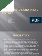 Ppn Atas Usaha Real Estate