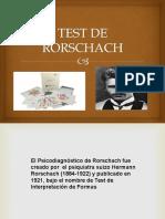 Exposición Del Rorschach