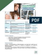 OFPPT Technicien Spécialisé Télécoms