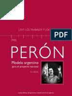 Peron. Modelo Argentino Para El Proyecto Nacional