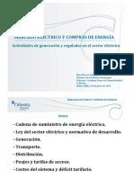 Mercado Eléctrico y Compras de Energía_Junio2014