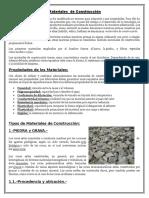 Materiales de Construcción FAVIO-TAREA