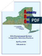 IDA Procurement Final Report