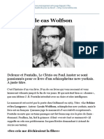 L'Incroyable Cas Wolfson (LE NOUVEL OBSERVATEUR, Jacques Drillon, 23.04.2009)
