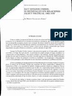 CHILE Y ESTADOS UNIDOS
