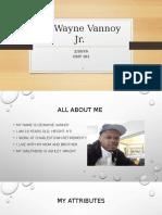 dewayne vannoy jr