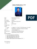 CV Muhammad Arief Lagoina