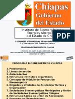 Comision Estatal de Bioenegéticos Chiapas