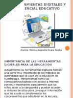 Importancia de Las Herramientas Digitales Para La Educación