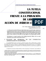 463-471. La tutela constitucional frente a la privación de libertad. Acción de hábeas corpus. Virna Eguinoa.pdf