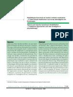 A reabiltação funcional nas LVM_abordagem tradicioonal e novas abordagens da FT