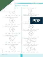 Angulos en La Circunferencia NIVEL DOW