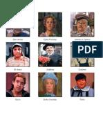 Personajes Del Chavo Del Ocho