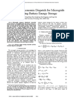 9 Dynamic Economic Dispatch for Microgrids Including Batterry Energy Storage