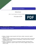 Tema 1 Repaso Probabilidad - Distribuciones Multivariantes - Mezclas