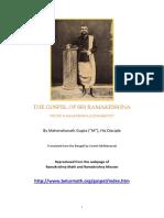 Gospel Sri Ramakrishna